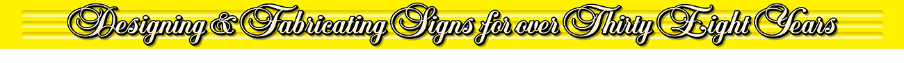 MAC 1 Signs has been in business in Citrus County FL for over 30 years.